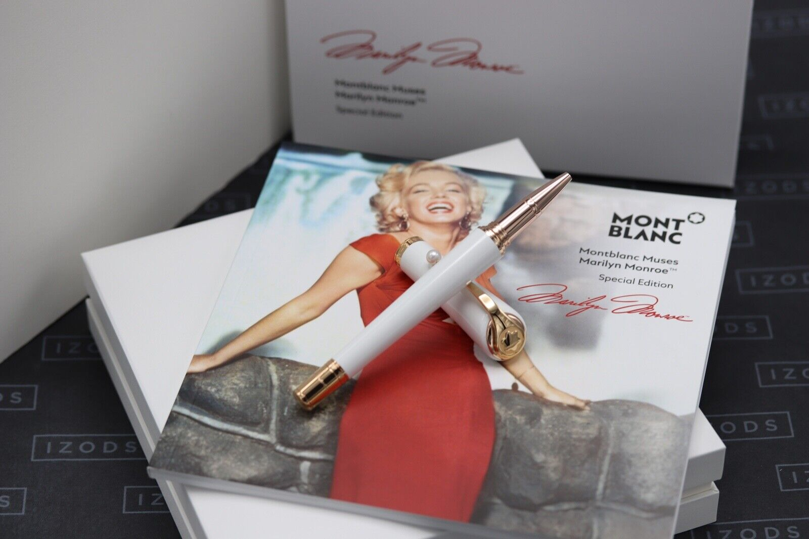 Montblanc Muses Edition Marilyn Monroe Pearl Rollerball Pen - NEW MARCH 21