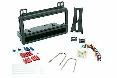 Single Din Dash Kit for Car Radio Stereo Install W/ Wire Harness and Connectors Scosche Car Stereo Connectors