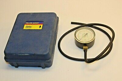 Ritchie Yellow Jacket Gas Pressure Test Kit No. 78055 0-10 Wc From Storage