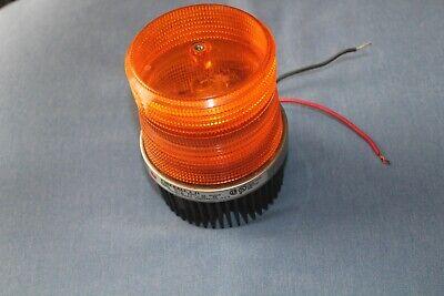 Federal Signal Fb2pst 12-24 Volt Fireball Ii Amber Strobe