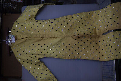Coveralls Safety Yellow Glass Cutting