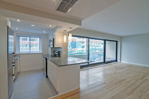 Concordia - McGill - renovated Downtown 2 Bedroom 1.5 bath