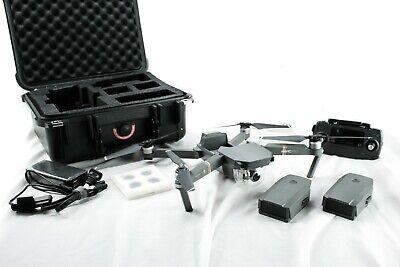 DJI Mavic Pro 4K Quadcopter Drone w/ additionally Battery + Hard Case + 128gb MicroSD