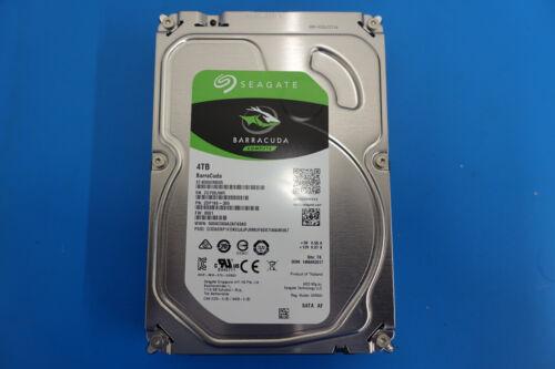 Seagate Barracuda 4TB Internal SATA Hard Drive for Desktops Silver ST4000DM005SP
