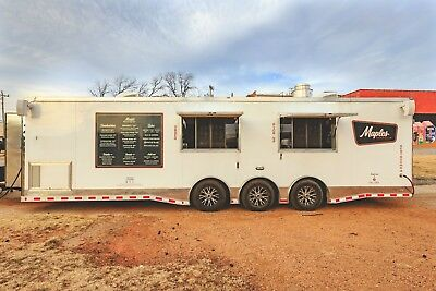 Immaculate 2017 Custom Concession Trailer Full Kitchen Satellite Tv Bose