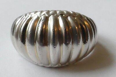 Designer Ring schlicht zeitlos 925 Silber Vintage 70er ring silver