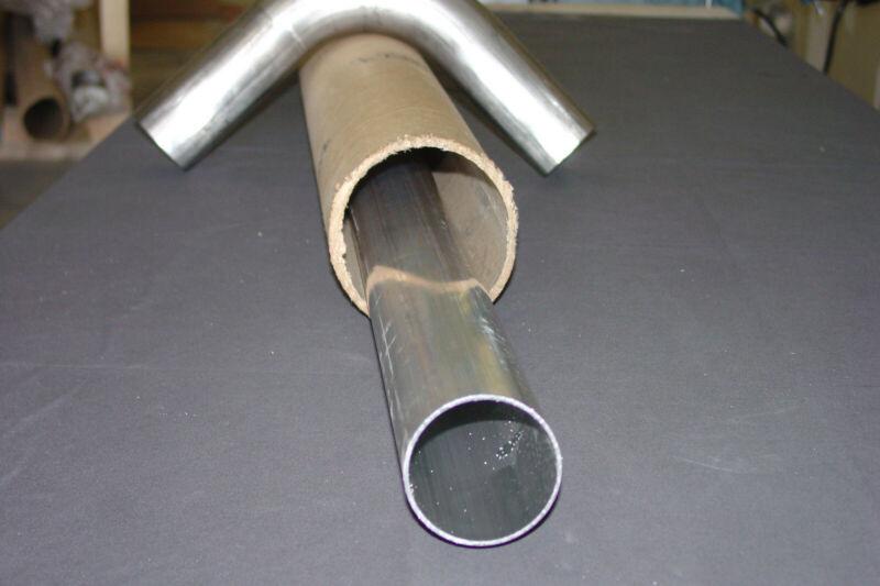 "2.5"" Aluminum Tube / Tubing / Pipe, 36"" long"