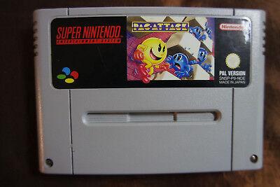 PAC ATTACK Arcade SNES Super Nintendo PAL Version 90er Kult Game xx gebraucht kaufen  Baden-Baden