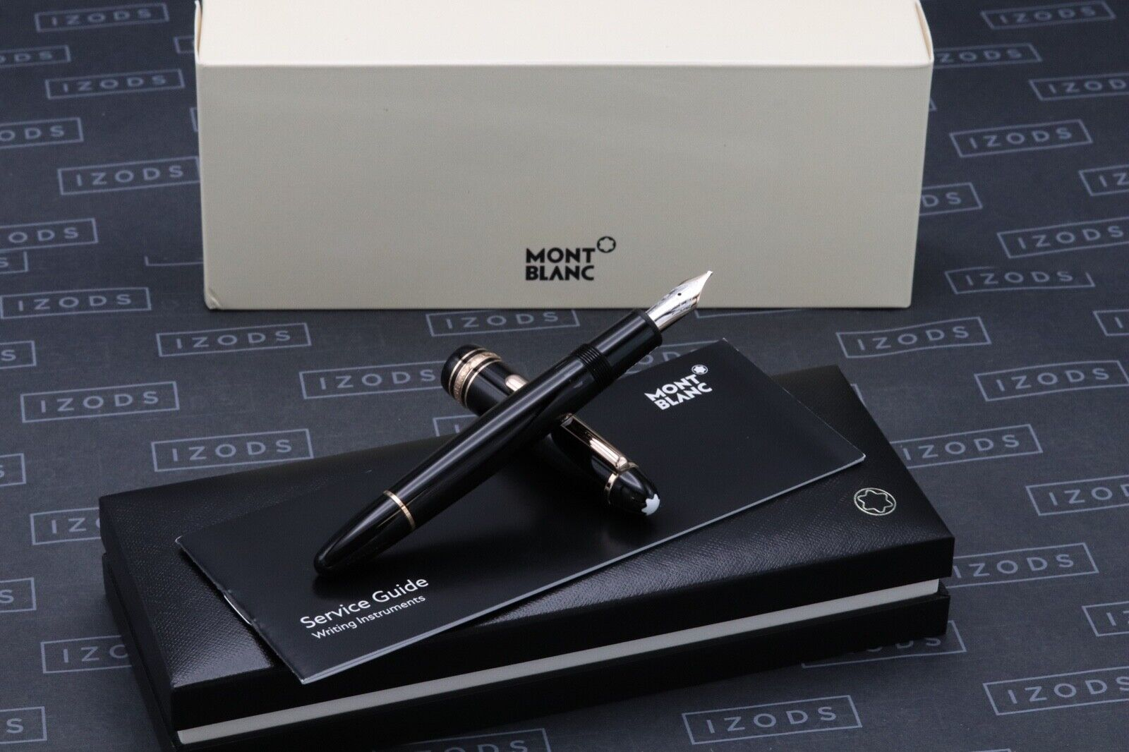 Montblanc Meisterstuck LeGrand Rose-Gold Coated Fountain Pen - OB Nib