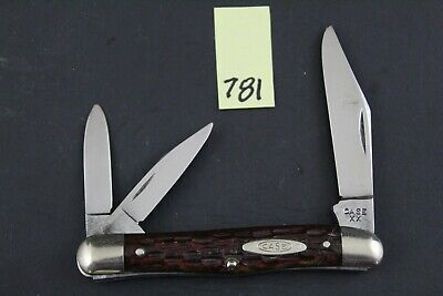 Case XX 1940-1964 6308 Vintage Red Bone Whittler Pocket Knife 781