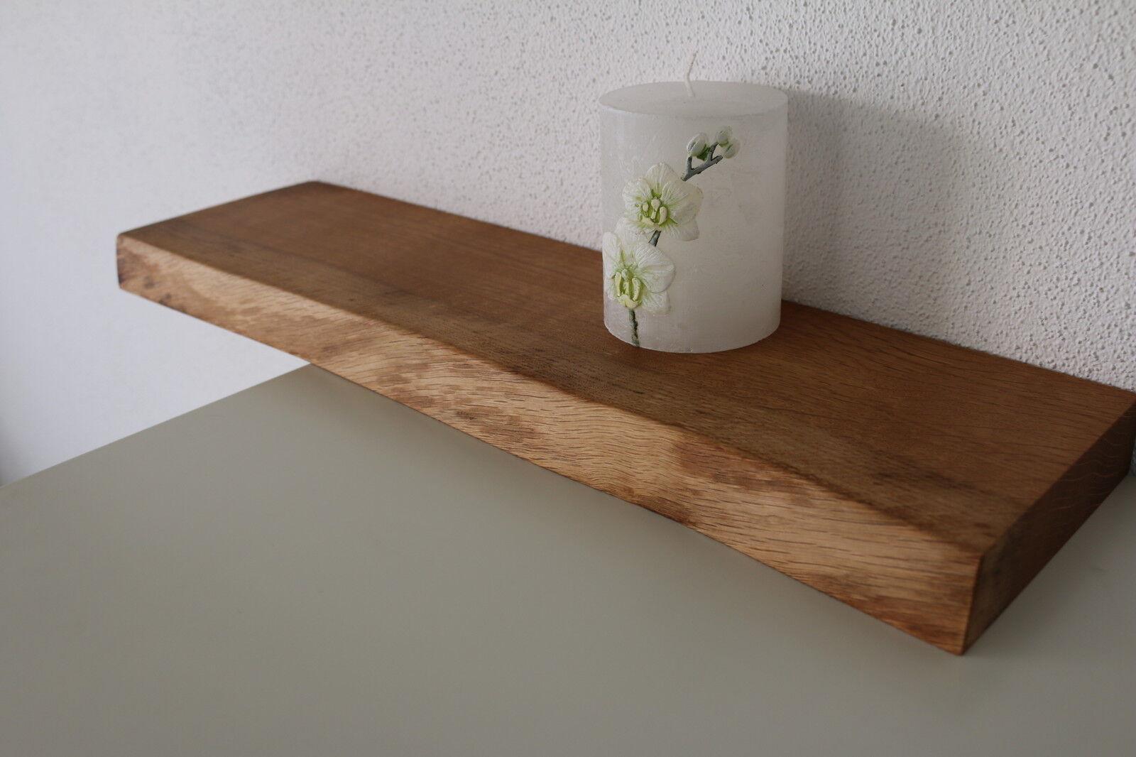 wandboard eiche wild massiv holz board regal steckboard regalbrett baumkante eur 67 00. Black Bedroom Furniture Sets. Home Design Ideas
