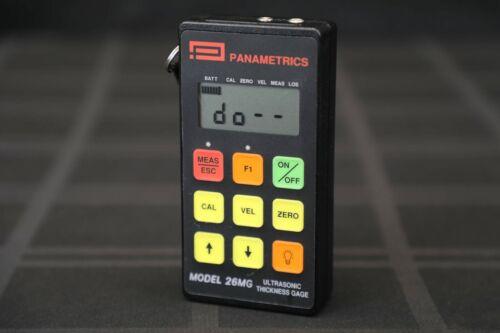 Panametrics 26MG Ultrasonic Thickness Gage - GE Olympus Krautkramer NDT UT