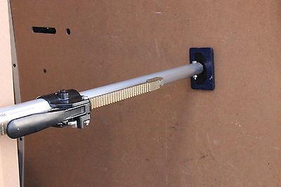 2x Alu Klemmbalken mit Gummifüßen Klemmbalken für Transporter 1,30 - 1,67 m