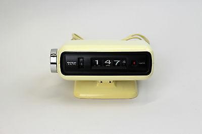 Sankyo Digital Wecker - 70er Jahre Rollzahlen-Uhr #AR