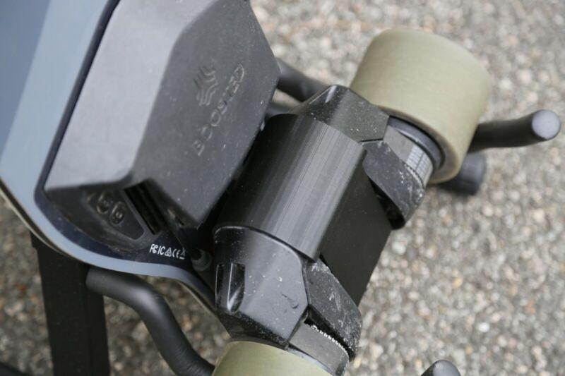 Boosted Board Motor Cover Upgrade Accessory Guard Skid Bash Stealth Mini Rock BK