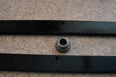 Cnc Stepper Motor Mech Rack Gear 48 Rack 2x24pcs 12 20t Pinion Gear