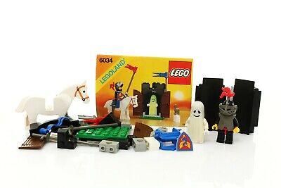 Lego Castle Black Knights Set 6034 Black Monarch's Ghost 100% cmpl. +instr. 1990