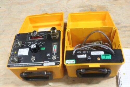 Biddle 247000-8 DLRO Digital Low Resistance Ohmmeter Megger NICE