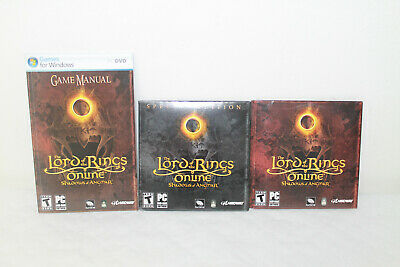 Lord of the Rings Online: Shadows of Angmar - Special Edition (PC,