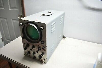 Nice Used Precision Apparatus Model S-55 Wide Band Oscilloscope - Working Parts