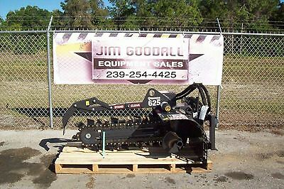 Bobcat Trencher By Bradco 625 36 Depth6wide5050 Rock Frost Teethin Stock
