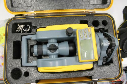 Spectra Det-2 Survey Level With Case Electronic Theodolite B58550A-SDK
