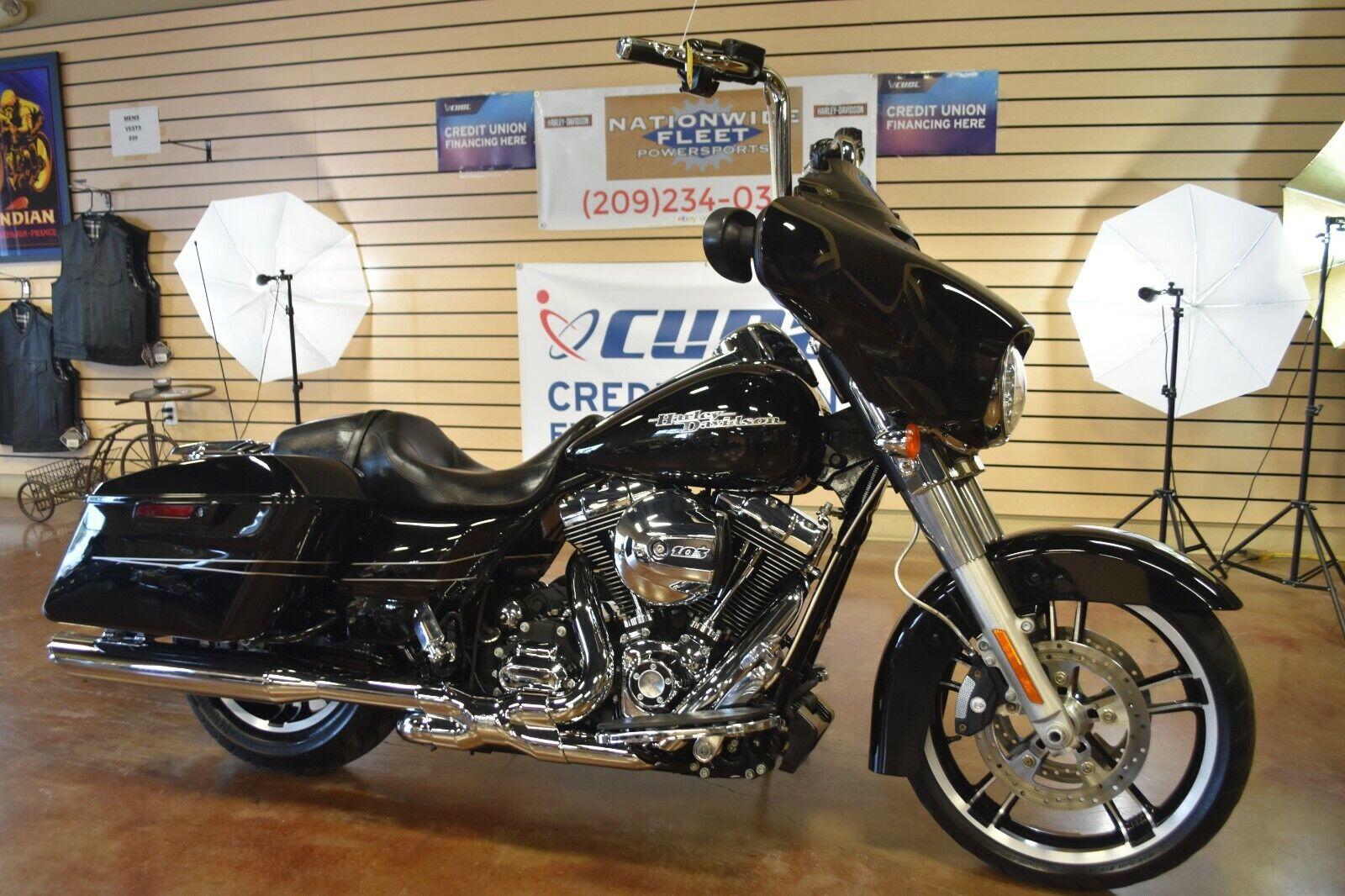 2014 Harley Davidson Street Glide FLHX 103 Touring Bagger Clean Title NO RESERVE
