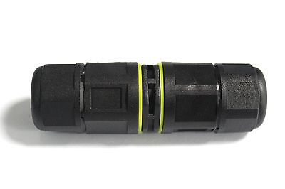 1pc Pg11 4pin 20a Ip68 Waterproof Electric Short Screw Butt Splice Connector