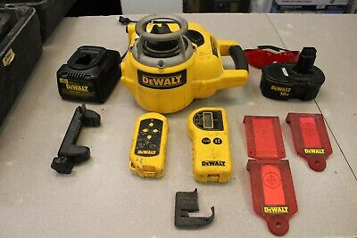Dewalt Dw077 18-volt Self-leveling Rotary Laser Level Interiorexterior Kit