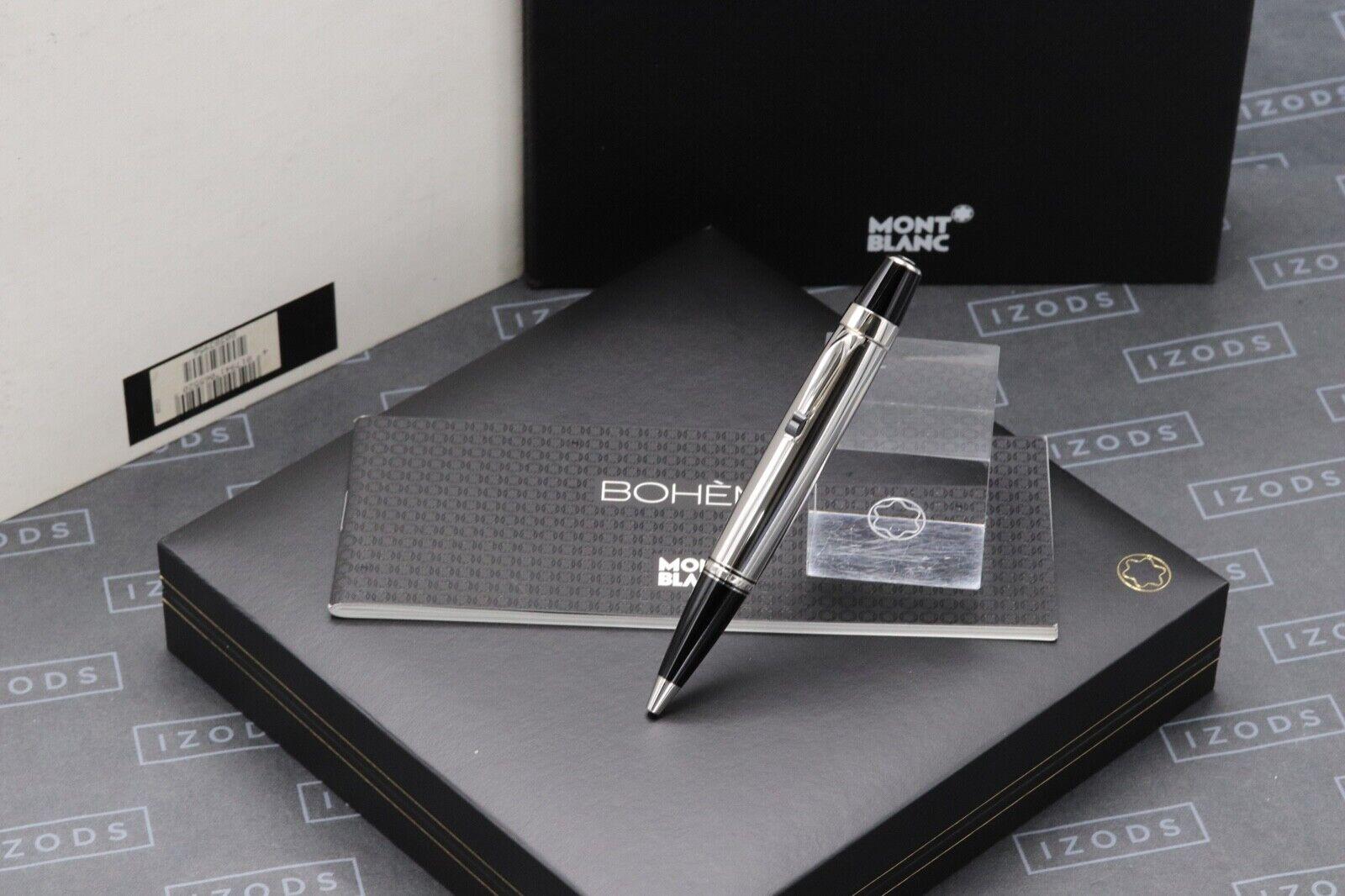 Montblanc Boheme Steel Noir Ballpoint Pen