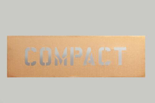 6 inch Compact Stencil Cardboard