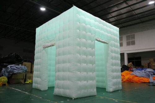 8.2FT 2 Door Inflatable Professional LED Photo Booth Tent