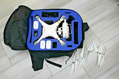 DJI Delusion 3 Professional Quadcopter RTF GPS 4K Camera Drone with Bag, Extras