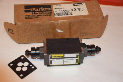 NEW PARKER FM2DDDSV-55 5000psi HYDRAULIC PRESSURE REDUCING VALVE
