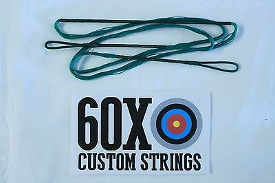 "50"" 18 Strand Green Dacron B50 Longbow Bowstrings by 60X Custom Strings Bow"