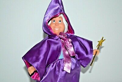 Disney Fairy Godmother Doll from Cinderella Film ,Gift wrapped](Cinderella Fairy Godmother Wand)