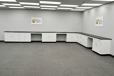 24' x 15' Base laboratory Furniture Fisher Cabinets /Case Work / Benches /Tops for sale  Rockford