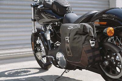 FXDL//I Satteltasche Indiana für Harley Dyna Low Rider schwarz rechts
