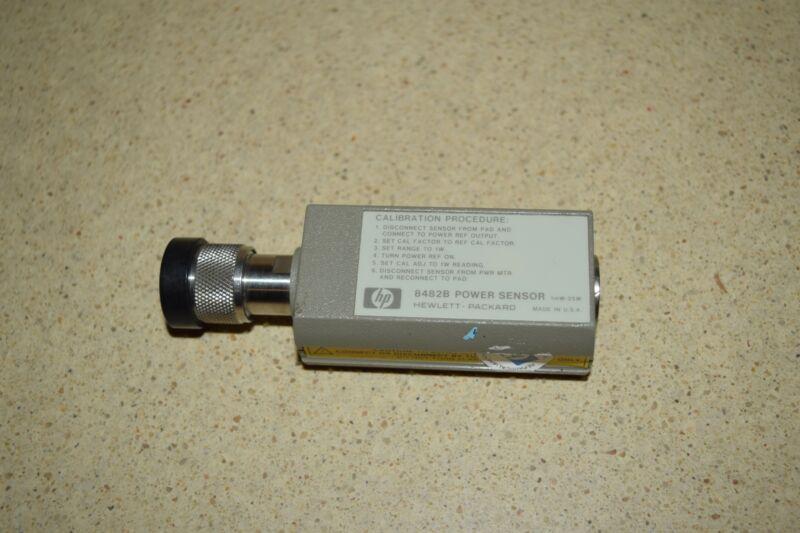 <SS> HEWLETT PACKARD 8482B POWER SENSOR 1 mW-25W (HG1)