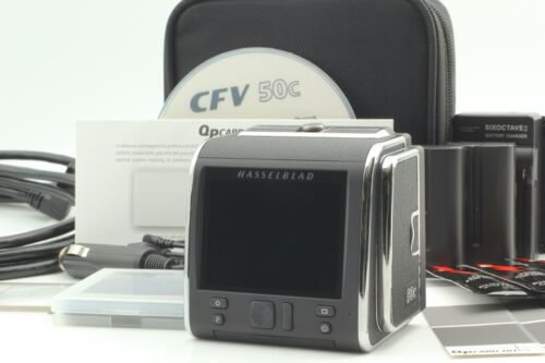 """""""ALMOST UNUSED in Case"""" HASSELBLAD CFV-50C Digital Back For V System From JAPAN"""