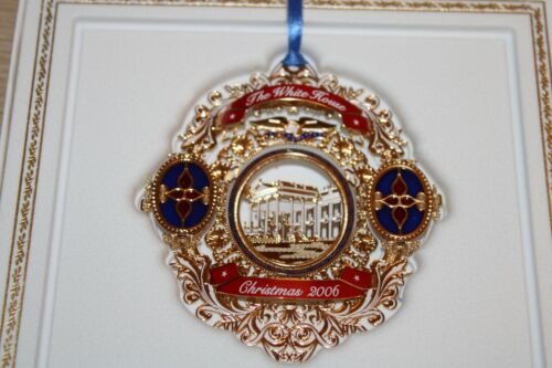The White House Historical Association Christmas Ornament 2006 NEW IN BOX