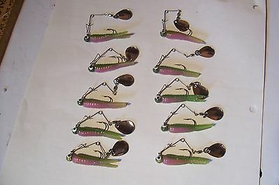 Beetle Spin  Card Of Ten Mixed Five Color Card For Different Water Conditions