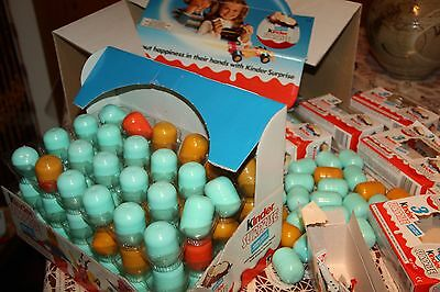 e bulk wholesale lot 150 eggs original boxes 1994 ONWARDS  (Bulk Kinder Spielzeug)