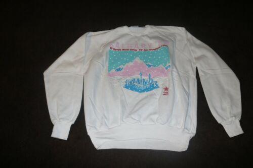 Vintage NOS ? 1988 Calgary Olympics womens sweatshirt size Medium M