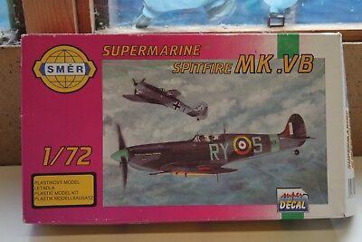 SM847 Smer 1:72 Supermarine Spitfire Mk.VB 100% complete RAF Decals SH4