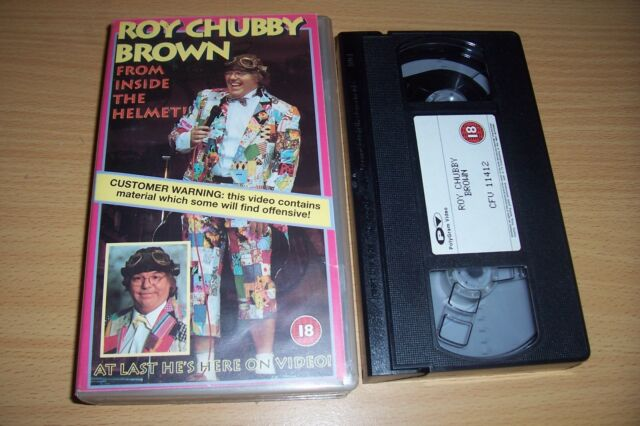 Roy chubby brown from inside the helmet