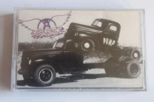 Aerosmith Pump Geffen 1989 Cassette