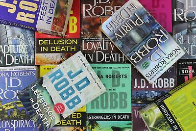 Lot of 10 J.D. Robb Mass Market Paperback Books MIX