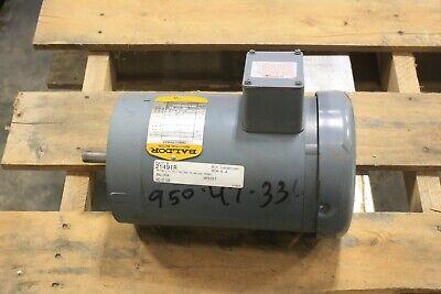 Baldor 1 12 Hp 1140 Rpm Electric Motor 56c 230-460 3 P