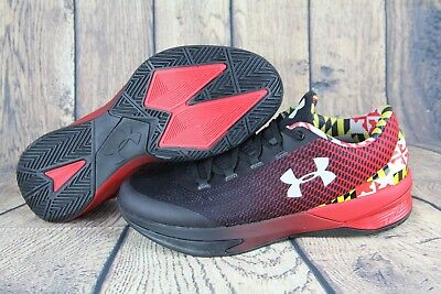7791482cbbbf Under Armour Charged Controller Maryland Terrapins Shoes Black 1286379-600  SZ 9